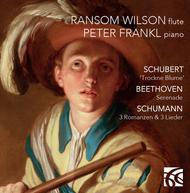 Beethoven, Schubert & Schumann: Works for Flute & Piano