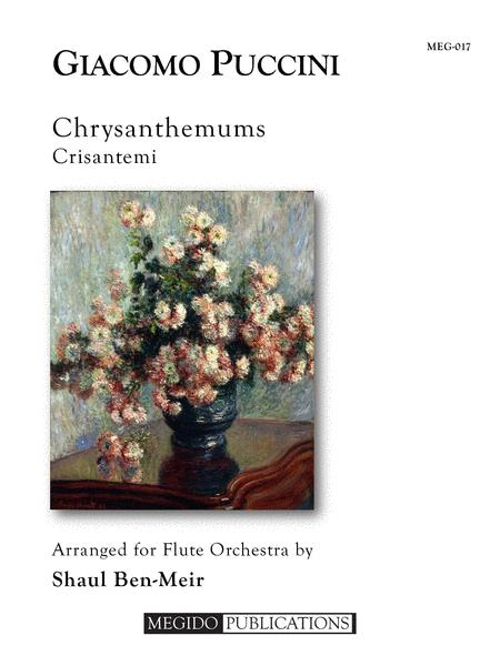 Chrysanthemums for Flute Orchestra