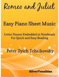Romeo and Juliet Easy Piano Sheet Music