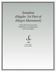 Sonatina-Haydn (treble Eb instrument solo)