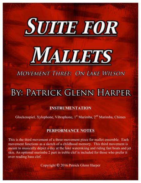 Suite for Mallets - Movement 3