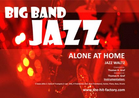 Alone at home - Alto feature - Jazz Waltz  - Big Band