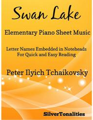 Swan Lake Elementary Piano Sheet Music