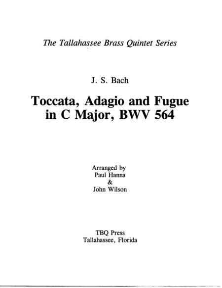 Toccata, Adagio, and Fugue, BWV 564