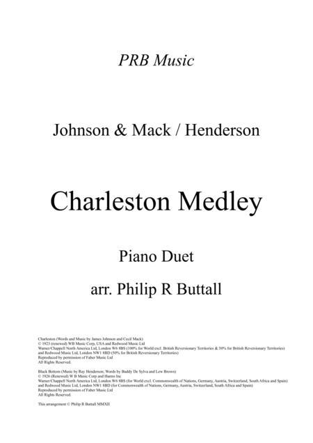 Charleston Medley (Piano Duet - Four Hands)