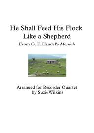 He Shall Feed his Flock from Handel's Messiah