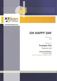 Oh happy day - Christmas Song - Gospel - Trumpet Trio