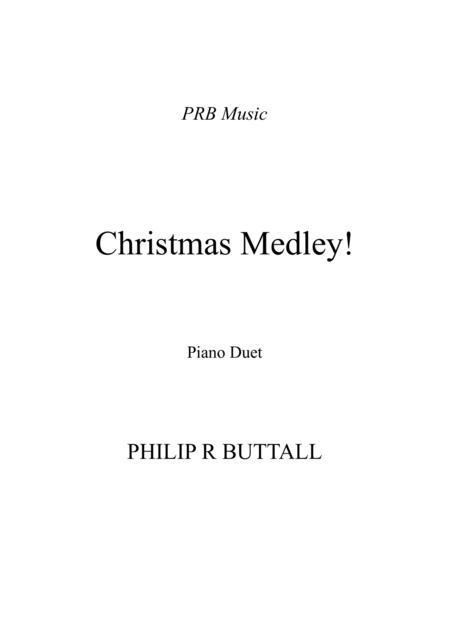 Christmas Medley (Piano Duet - Four Hands)