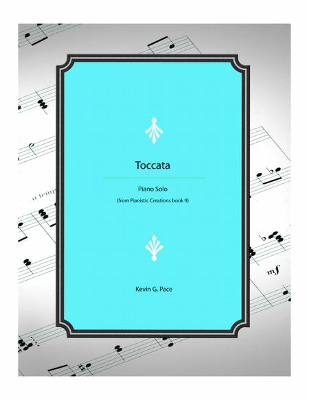 Toccata - advanced piano solo