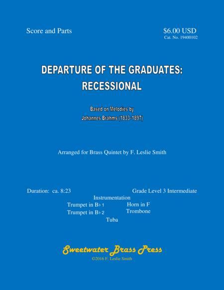 Departure of the Graduates: Recessional