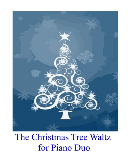 The Christmas Tree Waltz for Piano Duo