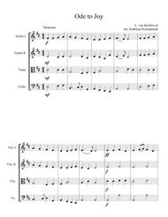 Ode to Joy (Theme from Beethoven's 9th Symphony)