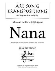 Nana (A-flat minor)