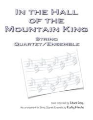 In the Hall of the Mountain King - String Quartet/Ensemble
