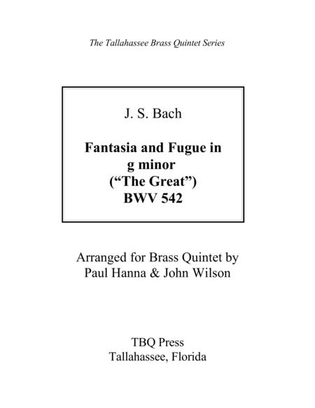 Fantasia and Fugue in G Minor (