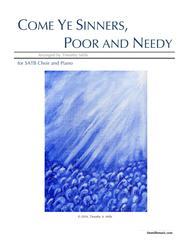 Come Ye Sinners, Poor and Needy