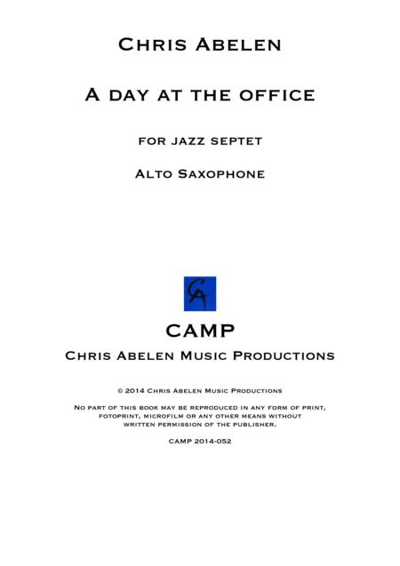 A day at the office - Alto Saxophone