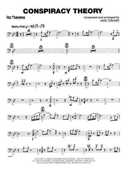 Conspiracy Theory - 3rd Trombone