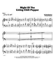 Night Of The Living Chili Pepper - Piano