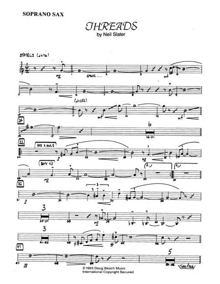 Threads - Bb Soprano Sax