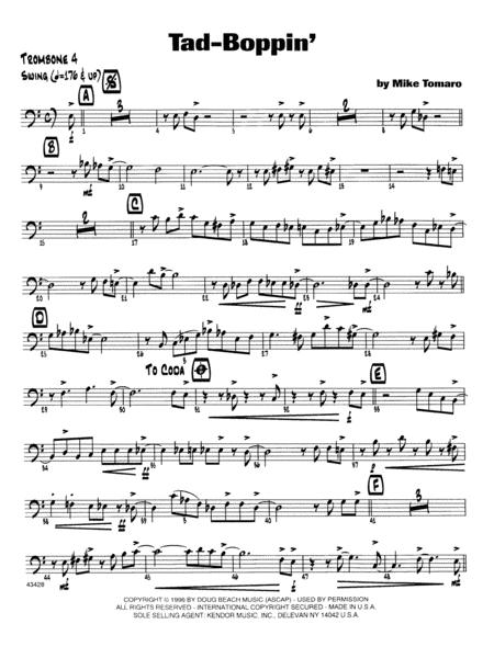 Tad-Boppin - 4th Trombone