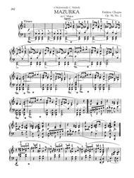 Mazurka in C Major, Op. 56, No. 2