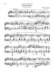 Mazurka in C-sharp minor, Op. 50, No. 3
