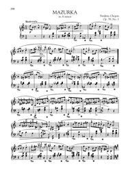 Mazurka in A minor, Op. 59, No. 1