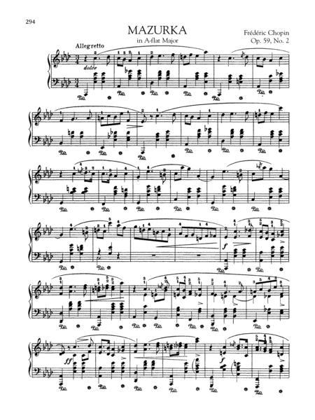 Mazurka in A-flat Major, Op. 59, No. 2
