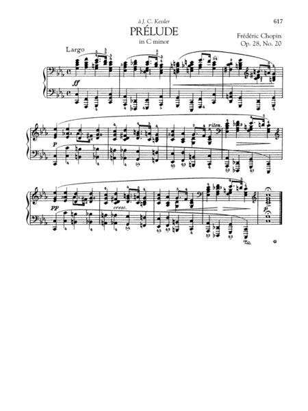 Prelude In C Minor, Op. 28, No. 20