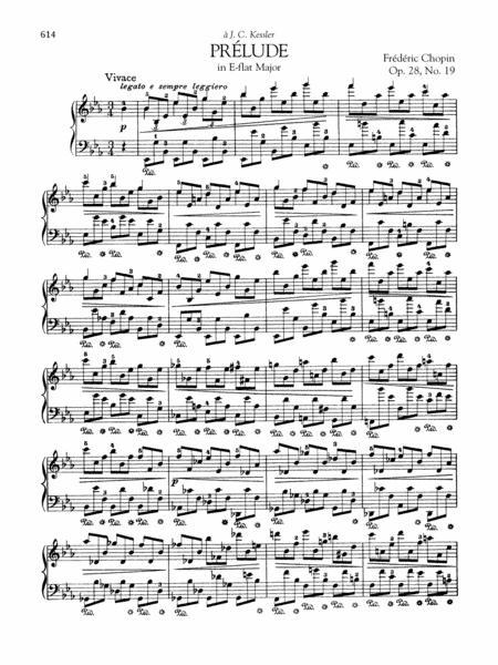 Prélude in E-flat Major, Op. 28, No. 19