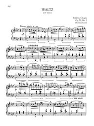 Waltz in F minor, Op. 70, No. 2 (Posthumous)