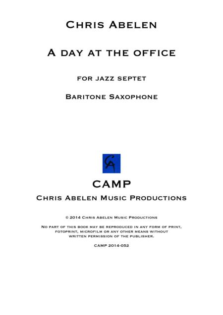 A day at the office - Baritone Saxophone