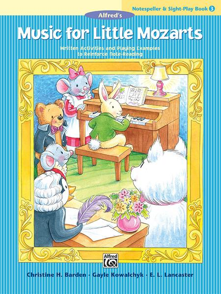 Music for Little Mozarts Notespeller & Sight-Play Book, Book 3