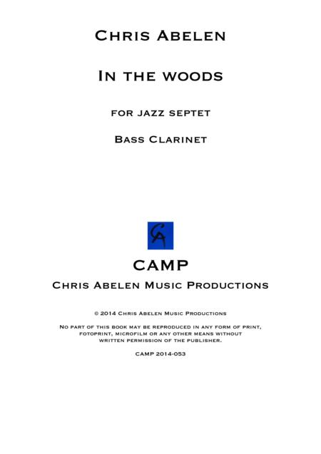 In the woods - Bass Clarinet