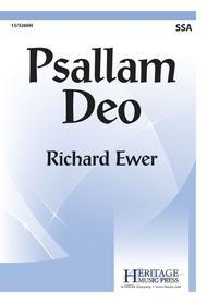 Psallam Deo