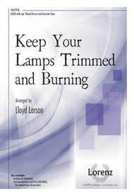Keep Your Lamps Trimmed And Burning Sheet Music By Lloyd Larson   Sheet  Music Plus