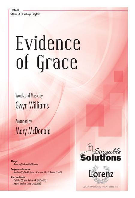 Evidence of Grace