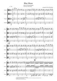 Blue Moon for Viola Quartet