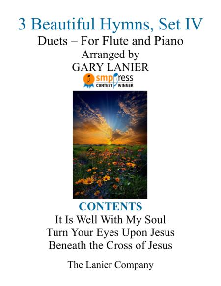 Gary Lanier: 3 BEAUTIFUL HYMNS, Set IV (Duets for Flute & Piano)
