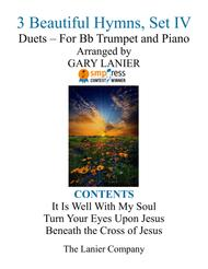 Gary Lanier: 3 BEAUTIFUL HYMNS, Set IV (Duets for Bb Trumpet & Piano)