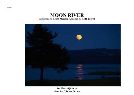 Moon River for Brass Quintet & Drum kit (opt)