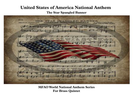 United States of America National Anthem (The Star Spangled Banner) for Brass Quintet