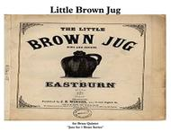 Little Brown Jug for Brass Quintet & Drum Kit ''Jazz for 5 Brass Series''