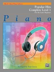 Alfred's Basic Piano Library Popular Hits Complete, Book 1