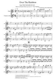 Over The Rainbow (from The Wizard Of Oz) for Flute and Clarinet Duet
