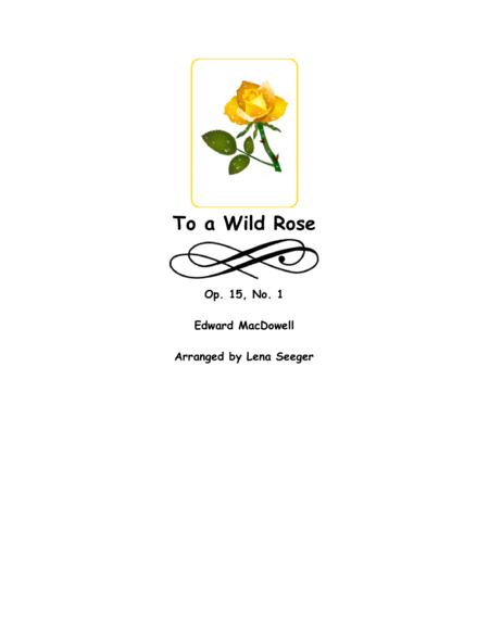 To a Wild Rose (Recorder and Piano)
