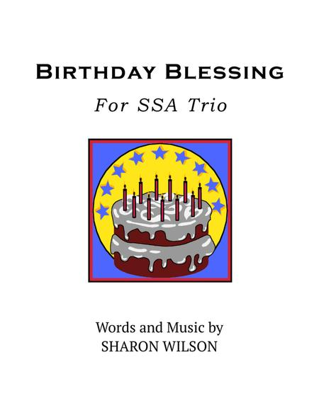 Birthday Blessing (for SSA trio)
