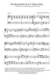 Download you raise me up violin 1 sheet music by josh groban.