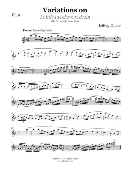 Variations on Debussy's
